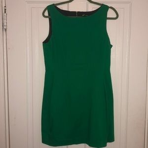 Monteau Sleeveless Fit and Flare Green Dress Sz L